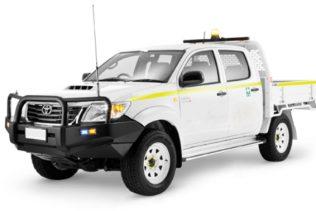 Toyota Hilux 4X4 or similar