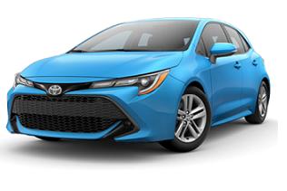 Toyota Corolla Hybrid Hatch